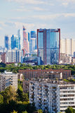 Towers omf Moscow City Royalty Free Stock Photography