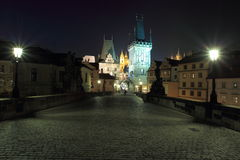 Towers op Prague Stock Photography