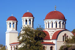 Towers of the Orthodox Church Stock Photography