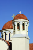 Towers of the Orthodox Church Stock Image