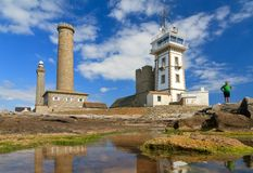 Towers of Penmarc`h Stock Photography