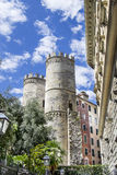 towers of Porta Soprana in Genoa