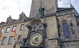 Towers of prague. Old historical towers of prague Royalty Free Stock Photo