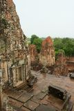 Towers of the Pre Rup temple in Angkor, Cambodia. Royalty Free Stock Photo