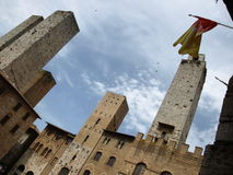 The towers of S.Gimignano Stock Photos
