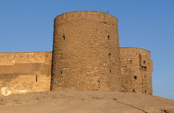 Towers in the Saladin Citadel Royalty Free Stock Image