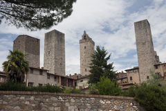 Towers from San Gimignano Royalty Free Stock Images