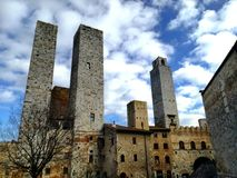 Towers of San Gimignano Royalty Free Stock Photography