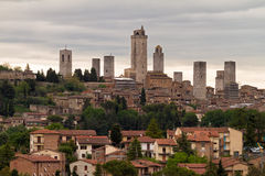 Towers of San Gimignano, Tuscany, Italy Stock Photography