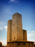 Towers of  San Gimignano Royalty Free Stock Images