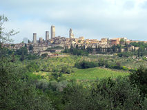 Towers of San Gimignano, Tuscany, Italy - Horizontal Stock Photos