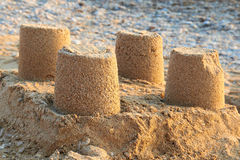 Towers from the sand Royalty Free Stock Images