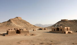 Towers of Silence in Yazd, Iran Royalty Free Stock Image