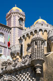 Towers of Sintra palace Stock Photo