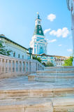The towers of St Sergius Lavra Royalty Free Stock Photo