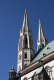 Towers of Sts. Peter and Paul Stock Photography