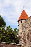 Towers of Tallinn castle Stock Photo