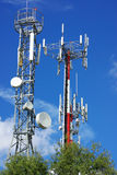Towers of telecommunications. Stock Images