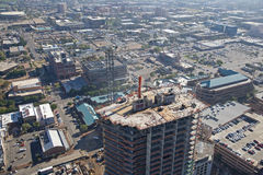 Towers in Tempe under construction Royalty Free Stock Photos