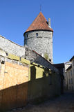 Towers of town wall in Tallinn Stock Images