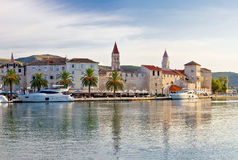 Towers of Trogir in Dalmatia Stock Images