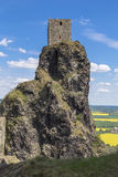 Towers of Trosky castle Royalty Free Stock Image