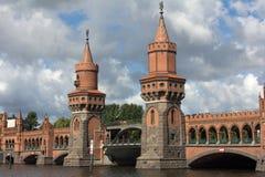 Towers of the Upper tree bridge Stock Photos