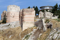 Walls of fortress Royalty Free Stock Photo