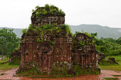 Towers were built by the Cham civilization in My S Stock Image
