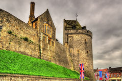 Towers of Windsor Castle near London Royalty Free Stock Images
