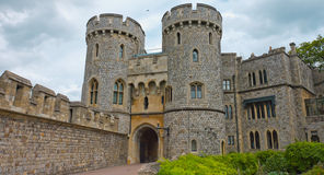 Towers of Windsor Castle Stock Image