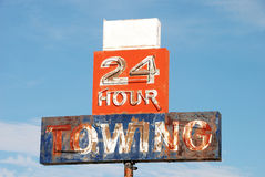 Towing Royalty Free Stock Image