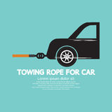 Towing Rope For Car Royalty Free Stock Photo