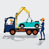Towing service Royalty Free Stock Photo