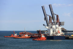 Towing vessel Royalty Free Stock Photo