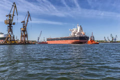Towing vessel Royalty Free Stock Photos
