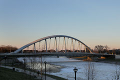 Towm Street  Bridge in Columbus, Ohio Stock Photo