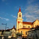 town Arkivfoton
