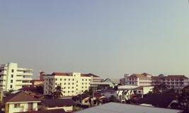 town Royaltyfri Foto