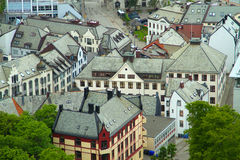 Town of Aalesund Royalty Free Stock Photography