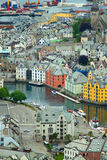 Town of Aalesund Stock Photos