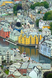 Town of Aalesund Stock Image