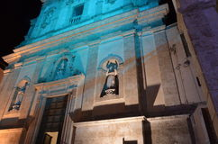 The Town of Alcamo in the province of Trapani, Sicily. Stock Images