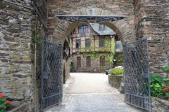 Town, Alley, Wall, Village stock photography