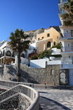 Town of Almunecar ( Spain ) royalty free stock photo