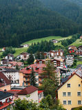 Town in the Alps Stock Photo