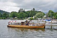 The town of Ambleside on Lake Windermere Stock Photos
