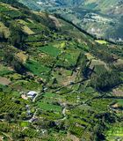 Town in Andes of Ecuacor stock images