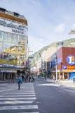 Town of Andorra La Vella Stock Image