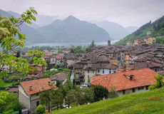 Town Anfo Lake Idro, Lombardy Stock Images